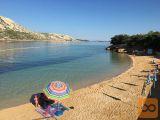 Otok Rab - ugodno oddam apartmaje, 100m od peščene plaže