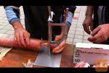 Masina za zatvaranje creva pri izradi kulena,kobasica,salama