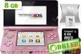 Nintendo 3Ds Roza + R4I Sdhc V2 + Microsd 8Gb + Sd 2Gb