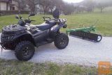 ATV grader (150 cm)