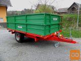 BICCHI B502L - 8 ton - novi model prikolica