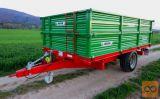 BICCHI 8 ton - enoosna traktorska prikolica