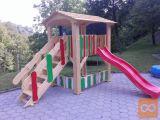 Otroška hišica, stolp
