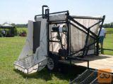 HIDRAVLIČNI ZBIRNIK TRAVE DEBBI - vrtni traktor kosilnica