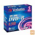 MEDIJ 8,5 DVD+R9 DL 4x Verbatim 5JC 43541