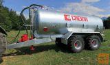 CREINA CVC 14000 VT, vakuum tandem cisterna za gnojnico