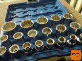 Garnitura nasadnih ključev za 1/2 ragljo-(19.delna)-12.zob