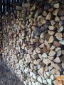 Prodam 1,5 leto sušena žagana na 30cm drva
