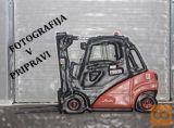 Viličar, Linde E 10 SX 1480, elektro, čelni (int. 635)