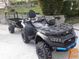 Tovorna prikolica za ATV, Shark WOOD 550