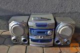 GLASBENI STOLP MASTEC 30 W- z daljincem in dva zvočnika