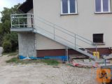 Kovinske pocinkane stopnice