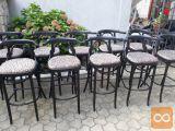 Gostinsko pohištvo inventar - stoli / barske stolice
