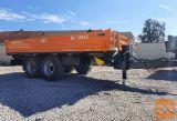 Traktorska prikolica,tandem, Brantner TA 13045 POWER-FLEX +
