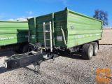 Traktorska prikolica, tandem, Brantner TA 14045 XXL - 14ton