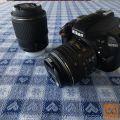 Nikon fotoaparat D3300 + 18-55VR II + 55-200VR II + stojalo